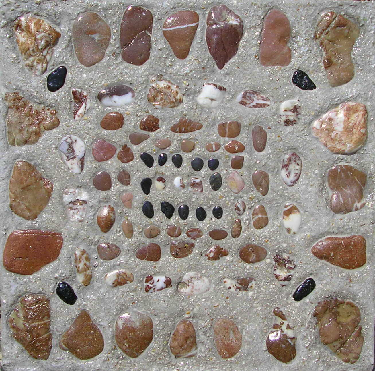 Mozaiek Tegels Tuin.Mozaiek Karen De Vries