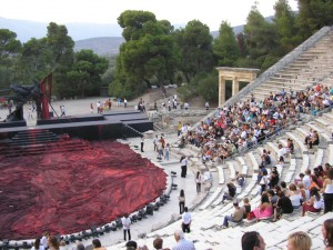 Theater van Epidavros