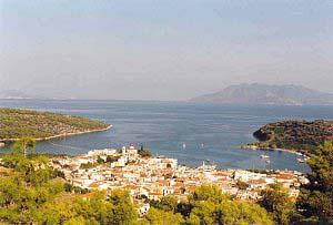 Archaia Epidavros, Argolida, Peloponnesos, Griekenland