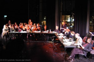 Lysistrata performance on 3-3-2003 in utrecht