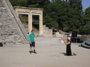 Griekse tragedie in Epidavros